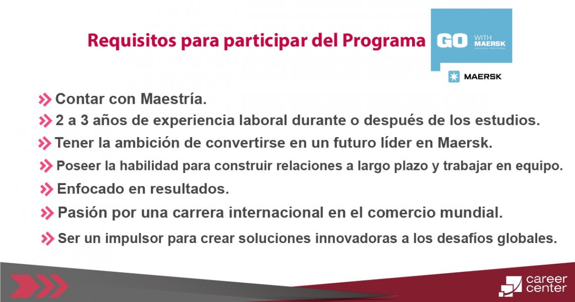 requisitos para participar del programa Go_Mesa de trabajo 1
