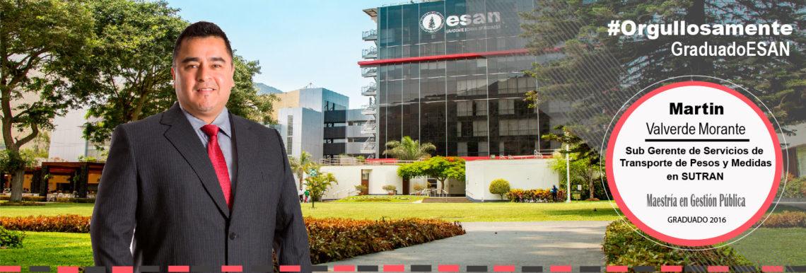 Orgullosamente Graduado ESAN