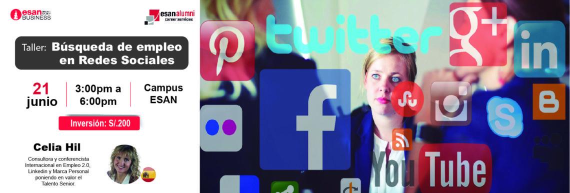 Taller: Búsqueda de Empleo en Redes Sociales
