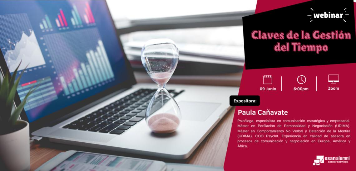 Webinar: Claves de la gestión del tiempo